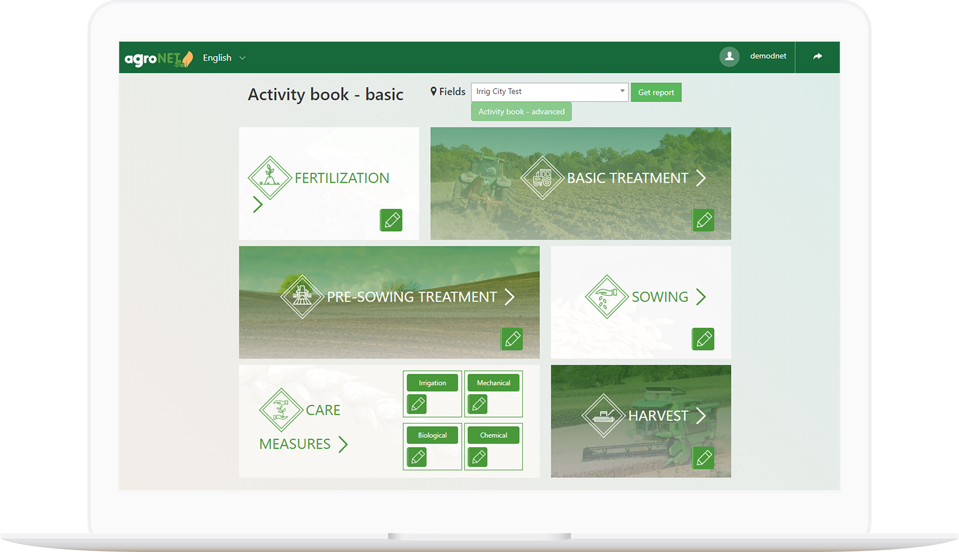 agroNET - Activity book